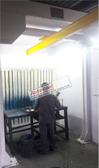 Dry Back Paint Booth