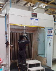 indian SPRAY BOOTH