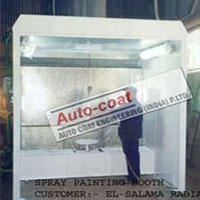 Water Type Paint Booth